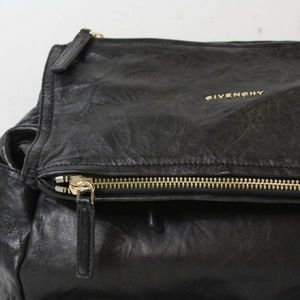 Givenchy Bags - Authentic Givenchy Pandora Black Leather backpack